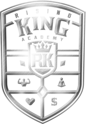 Rising King Academy Logo Shield
